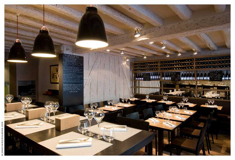 Restaurant l epi dupin fr d rique gormand architecture for Architecte interieur restaurant
